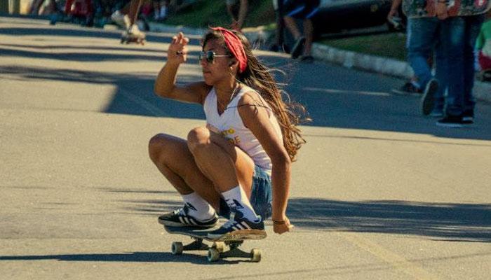 Skate Gonçalense - Las Niñas - Thayna - Sim São Gonçalo