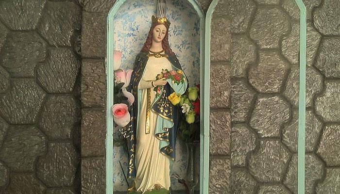 Rosas e a Santa Isabel