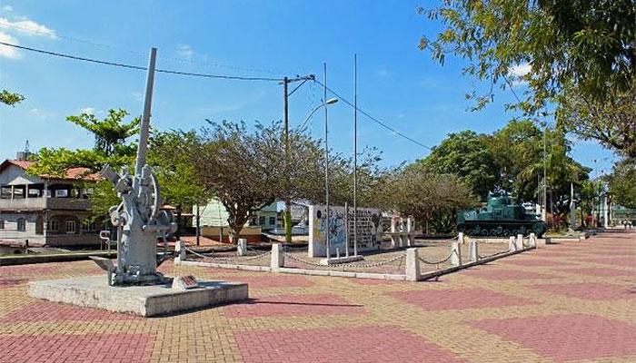 Praça dos Ex-combatentes, Patronato, São Gonçalo