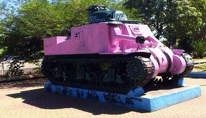 Tanque Rosa – Praça dos Ex-Combatentes, São Gonçalo - Rio de Janeiro