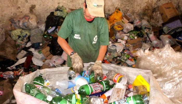 4 passos para reciclagem