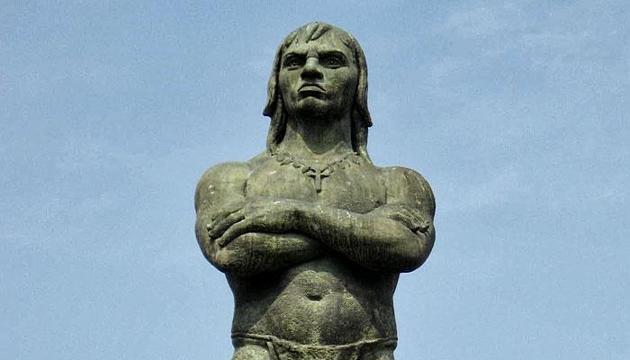 Estátua do Araribóia - Niterói