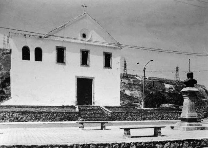 Busto do Araribóia na Igreja São Lourenço dos Índios