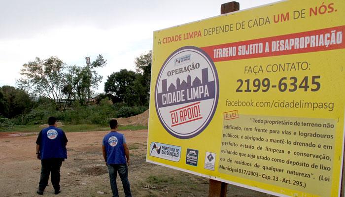 Operação Cidade Limpa em São Gonçalo