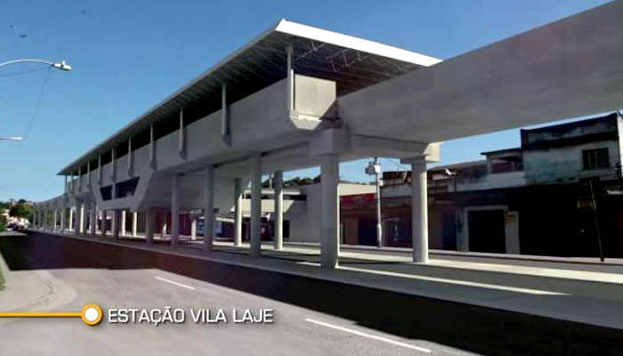Estação Vila Lage – Linha 3 do metrô