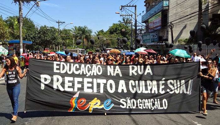 Estudantes sem aulas em 2015 – São Gonçalo