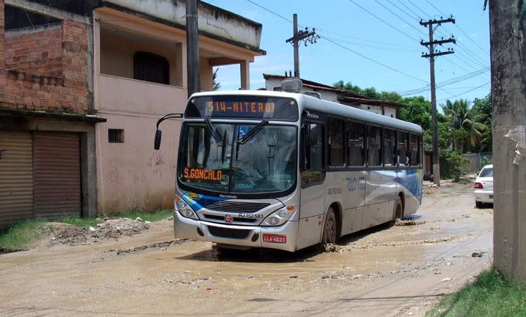 Licitação de ônibus intermunicipal