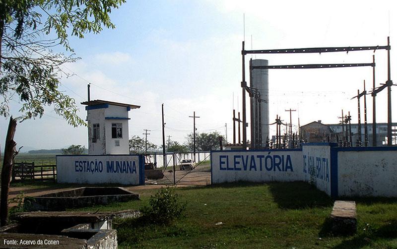 Estação Imunana Laranjal – São Gonçalo