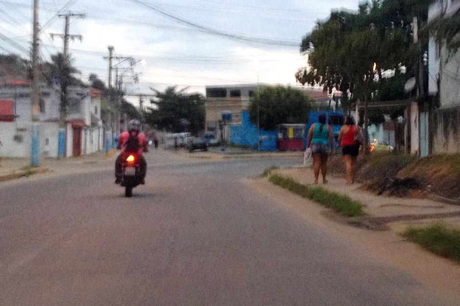 Sinalização reduz acidente de moto e traz cidadania