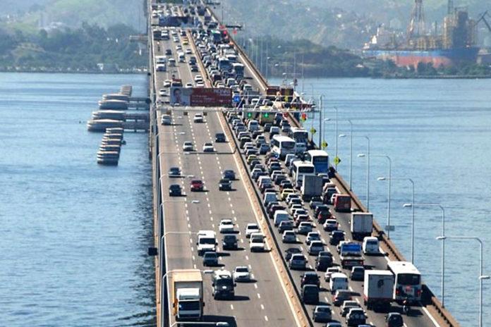 Ponte Rio-Niterói para São Gonçalo