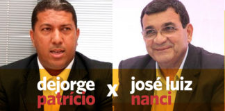 José Luiz Nanci e Dejorge Patrício