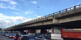 Viaduto de Alcântara numa tarde em SIM São Gonçalo