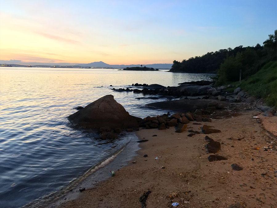 Visitando A Ilha Das Flores De Hospedaria De Imigrantes à