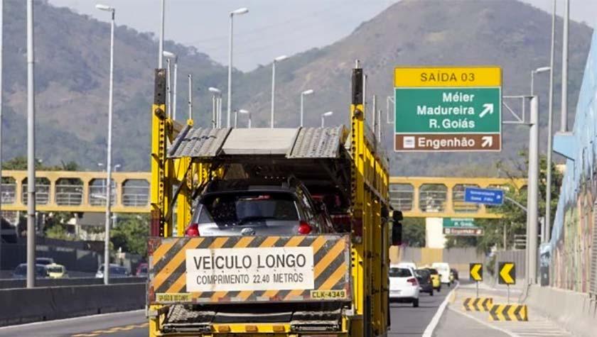 Roubo de cargas no Rio de Janeiro