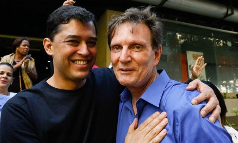 Marcelo Crivella e Índio da Costa