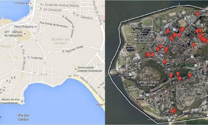 Região onde será instalado o novo pólo de Economia Criativa em NIterói.