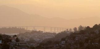 Vista da Ponte Rio-Niterói de São Gonçalo. Foto: Fernando Bittencourt