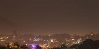 Vista para o Mutuá à noite. Foto: Fernando Bittencourt