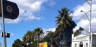 Mutirão com dos moradores de Vista Alegre em São Gonçalo