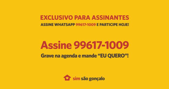 Exclusivo para Assinantes do SIM São Gonçalo – www.simsaogoncalo.com.br
