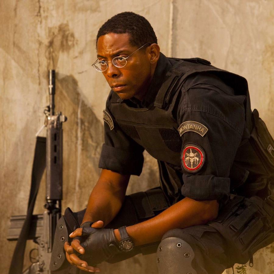 André Mathias, personagem policial de André Ramiro, no filme Tropa de Elite 2
