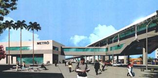 Maquete da Linha 3 do Metrô em São Gonçalo – RJ