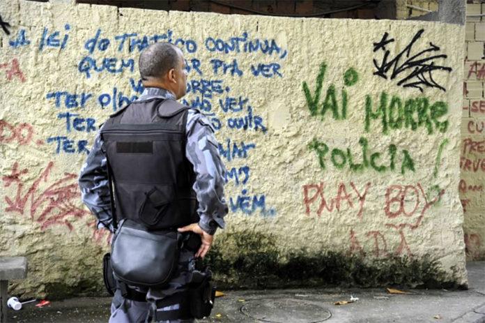 Corrupção policial no RJ
