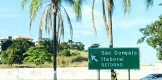 Entrada de São Gonçalo via BR-101 pelo Vila Lage