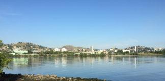 Baía de Guanabara vista pela Ilha das Flores, no Leste Fluminense.
