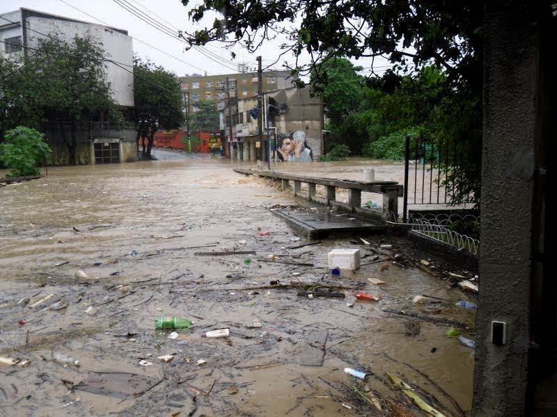Enchente de 2010 em Alcântara, São Gonçalo
