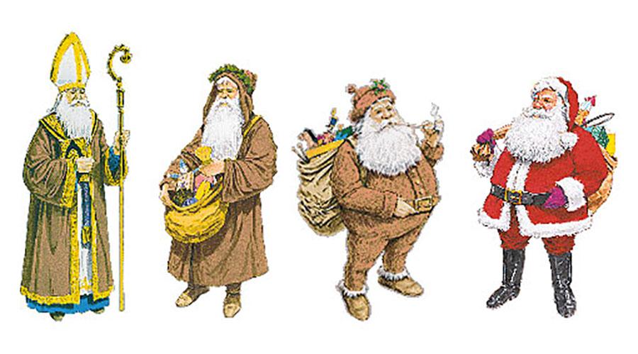 Evolução do Papai Noel
