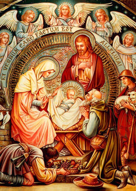 Prepépio: retratação do ambiente onde Jesus Christo Nasceu.