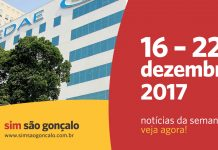 Notícias da semana do SIM São Gonçalo – 16 a 22 de dezembro de 2017